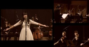 Indila – Dernière Danse, interpretata cu orchestra (video)