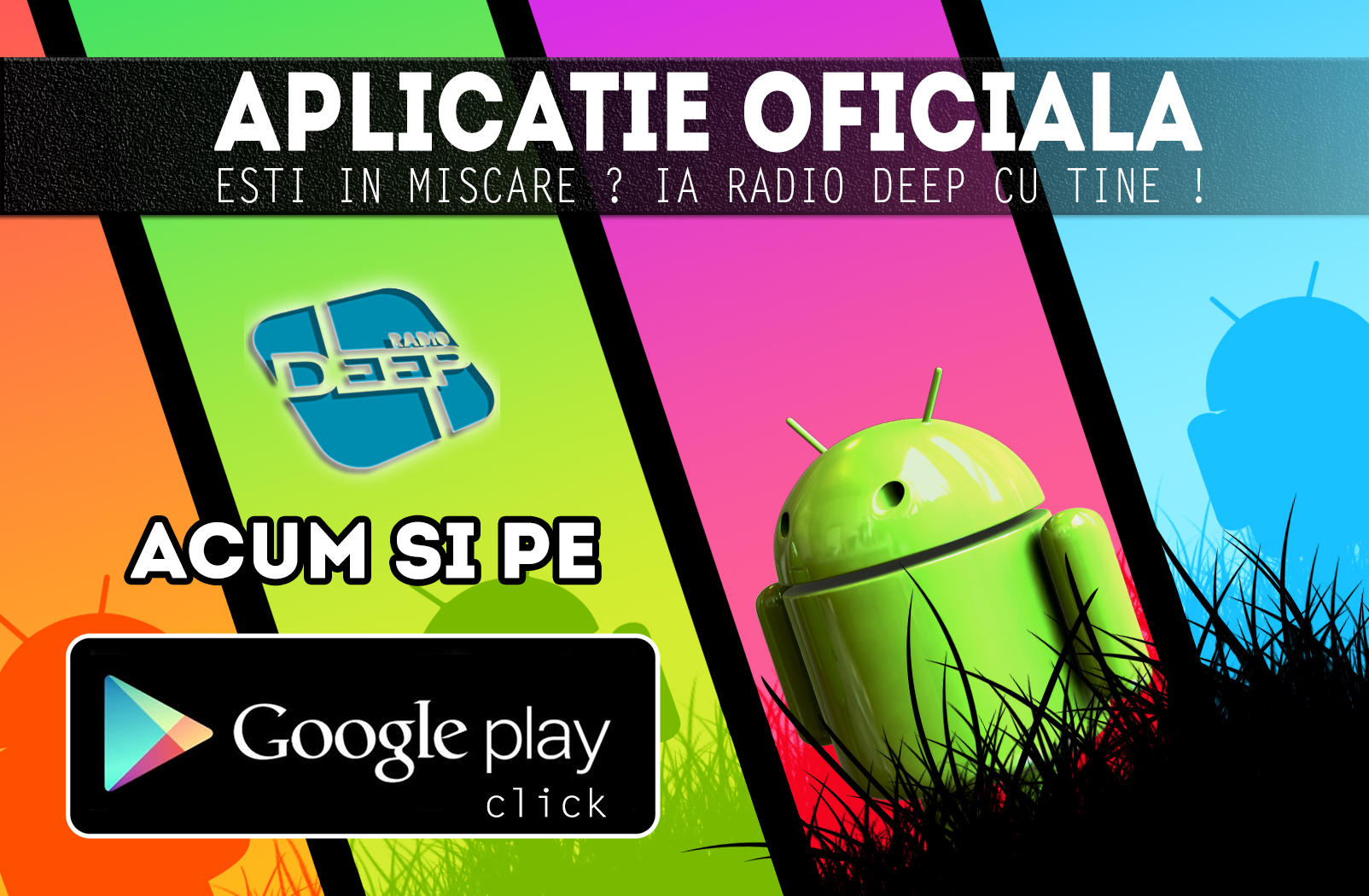Aplicatie Android Radio Deep